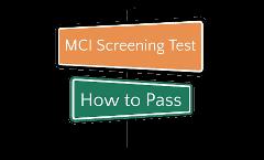 mci test how to pass logo by omkar medicom