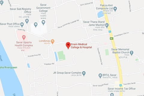 map of enam medical college
