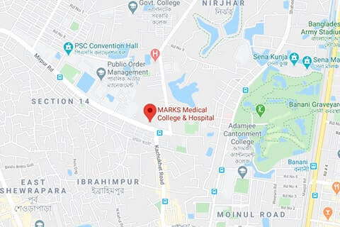 map of marks medical college