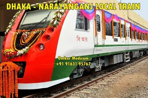 narayanganj dhaka local train