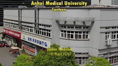 anhui medical university mess