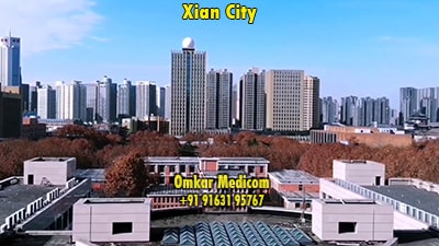 Best medical college in abroad for Indian students to study mbbs in Xian City 004