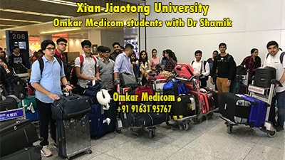 Omkar Medicom students on their way to the Best medical college in abroad for Indian students to study mbbs