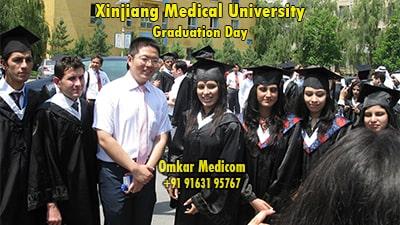 graduation day in xjmu