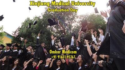 graduation day in xjmu 02