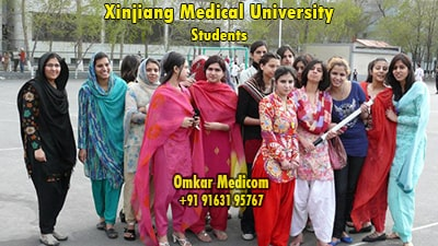 indian students in mbbs abroad in top 10 medical college in china in xjmu 002
